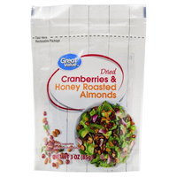 Great Value Dried Cranberries & Honey Roasted Almonds