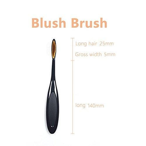 EYX Formula Flat Synthetic Powder Brush For Maybelline Powder and L'Oreal Paris Magic Nude Liquid Powder,Soft& Kabuki Brush for Bare Skin Pefective...