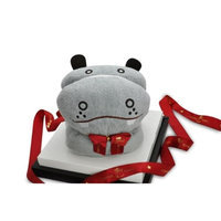Couture Towel CT-TPBH001401 57 x 30 in. Papa Hippo Towel Grey