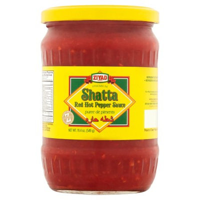 Ziyad Brothers Importing Ziyad, Sauce Red Pepper Hot Shat, 19.4 Oz (Pack Of 12)