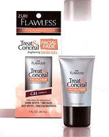 Zuri Flawless Treat & Conceal Facial Fade Brightening Skin Gel 1 oz.