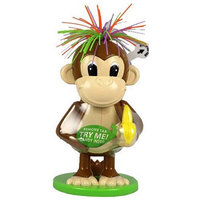 Galerie Easter Funky Hair Monkey Candy Dispenser Filled with Candy Pieces, 0.3 oz
