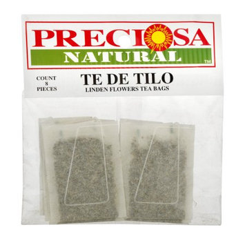 Proveedora De Alimentos Preciosa Natural Linden Flowers Tea Bags, 8 count