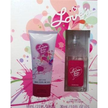 Love's Baby Soft Cologne Spray 1.0oz Lotion 2.0oz Gift Box Set