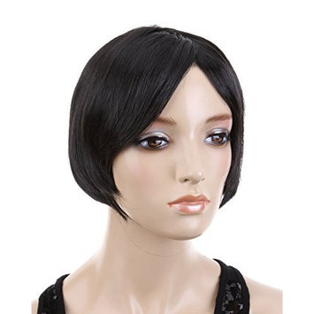 Cool2day® Cute BOB Style Short Straight Hair Party Wig (Model:jf010283) (Black)
