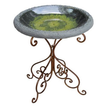 Tierra Garden Gloss Bird Bowl