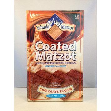 Yehuda Matzo Choc Cvrd Passover