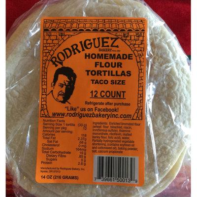 Rodriguez Bakery Inc. Rodriguez Flour Tortillas 8