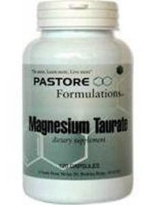 Magnesium Taurate 481 mg 120 caps by Pastore Formulations