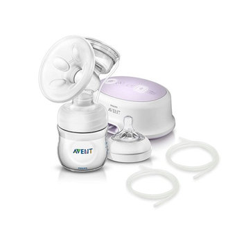 Philips AVENT Single Electric Comfort Breast Pump with 2 Replacement Tubing