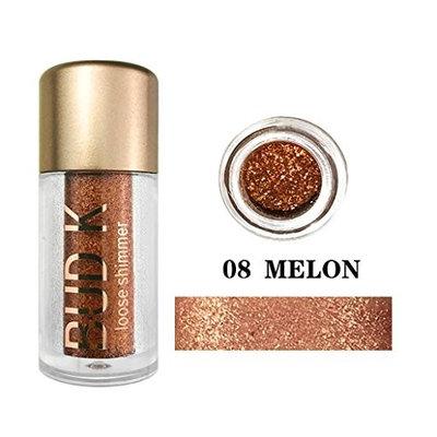 Women's Diamond Eeyebrow Powder, Iuhan 12 Colors Eye Shadow Diamond Makeup Pearl Metallic Eyeshadow Palette Makeup