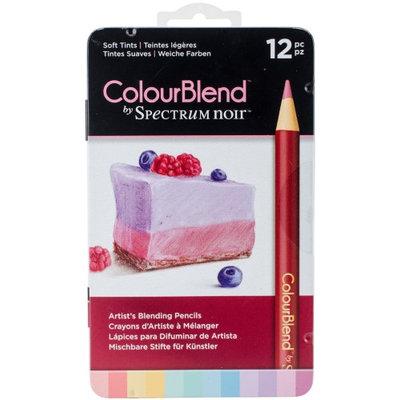 Spectrum Noir ColourBlend Pencils 12pcs-Soft Tints