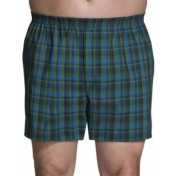 Big Men's Collection Tartan Woven Boxers, 3-Pack