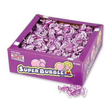 Super Bubble Bubble Gum, Grape Flavor, 54 Oz