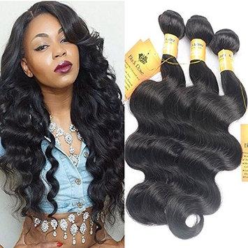 Black Rose Hair Brazilian Body Wave Virgin Hair 3 Bundles 12