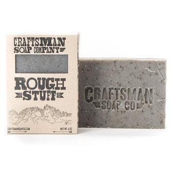 Craftsman Soap Company Bar Soap, Rough Stuff - Handmade in California [Rough Stuff]