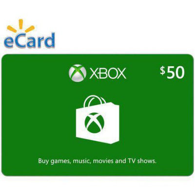 Incomm Xbox Digital Gift Card $50