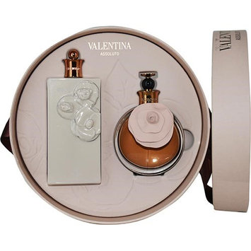 Valentina Assoluto by Valentino for Women - 2 Pc Gift Set 2.7oz EDP Spray, 6.8oz Satin Body Lotion