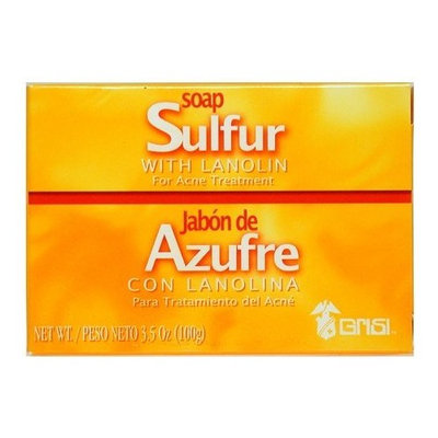 Sulfur Soap with Lanolin (4 pack)