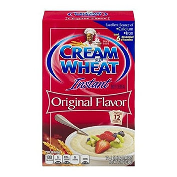 Instant Hot Cereal 0 Grams Of Saturated Fat, Original, 1 Oz, 12 Ct