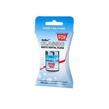 POH Dental Floss Unwaxed 100 yd 4 PACK