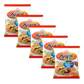 OTTOGI Snack Ramen 5 Packs
