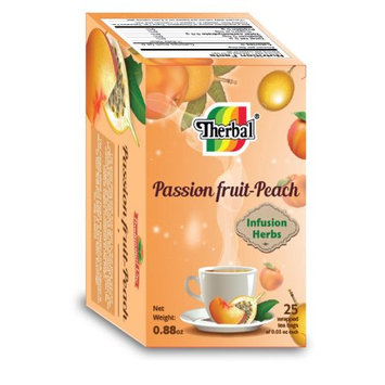 Therbal Tea Passion Fruit-Peach 25 bags
