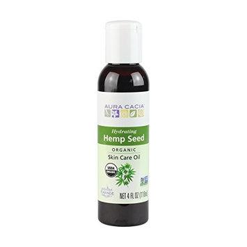 Aura Cacia Organic Hydrating Hemp Seed Skin Care Oil | 4 fl oz.