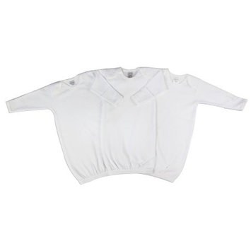 Bambini Neutral Newborn Baby 3 Piece Gown Set