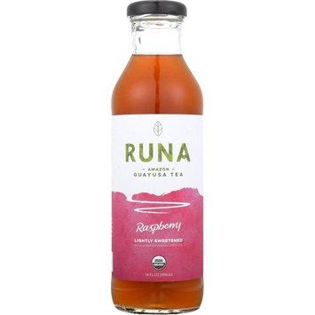 Runa Clean Energy Raspberry Tea, 14 Fl Oz (Pack Of 12)