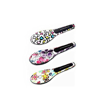 BeautyKo Art Major Controlled Heat Straightening Brushes - Abstract Floral