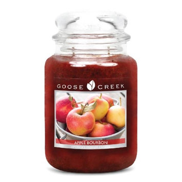 Goose Creek 26-Ounce Apples Delight Essential Jar Candle with Glass Lid