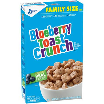 General Mills, Inc Blueberry Toast Crunch Cereal Family Size 18.25 oz