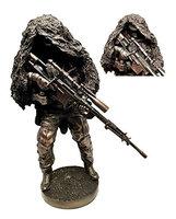 Gifts & Decor Modern Military Warfare Camouflage Marksman Sniper Specialist Unit Figurine Behind Enemy Lines