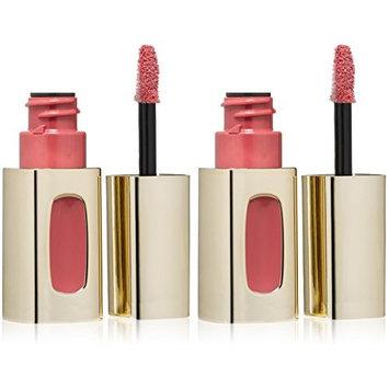 (2 Pack) L'Oréal Paris Colour Riche Extraordinaire Lip Gloss, Rose Melody (101), 0.18 fl. oz : Beauty