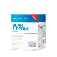 GNC Total Lean Burn and Define Vitapak Program