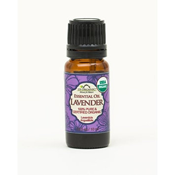 US Organic 100% Pure Lavender Essential Oil (Bulgarian) - USDA Certified Organic - 30 ml Pack of 2 - w/ Improved caps and droppers (More Size Variations Available)