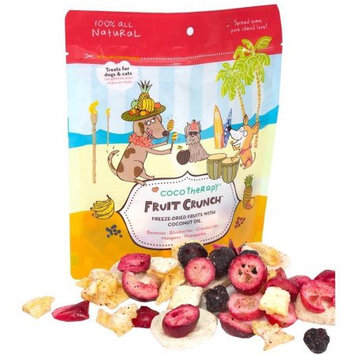 Coco Therapy - Crunch Dog Treats - Fruit - 1.5 oz