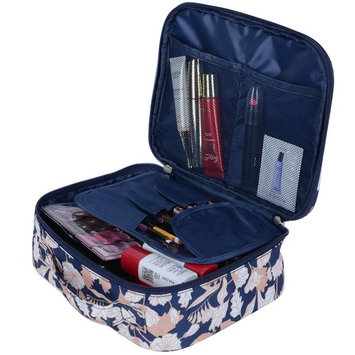 MKPCW Portable Travel Makeup Cosmetic Bags Organizer Multifunction Case for Women