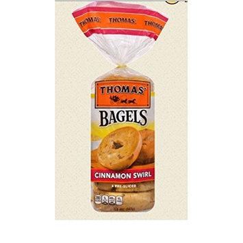 Thomas cinnamon swirl bagels 1.4LB