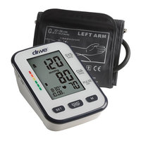 Drive Medical Automatic Deluxe Blood Pressure Monitor, White, Upper Arm [Upper Arm]