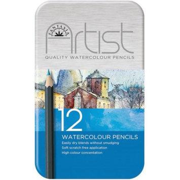 Pro-art Fantasia Premium Watercolor Pencil Set, 12pc