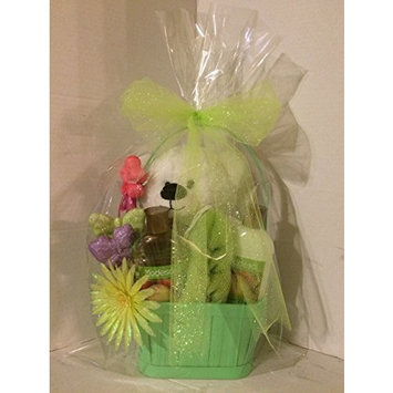 Sweet Pear Bath and Shower Gift Basket [Sweet Pear]