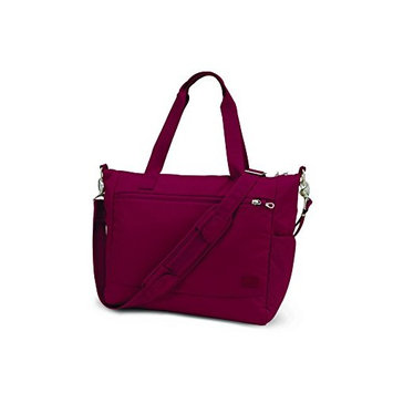 Pacsafe Citysafe CS400 Anti-Theft Travel Tote, Cranberry