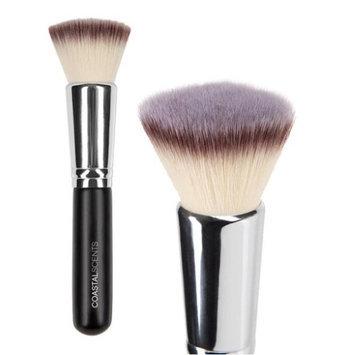 Coastal Scents Bionic Flat Top Face Makeup Foundation and Powder Applicator Buffer Brush
