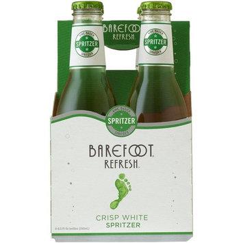 Barefoot Spritzer Crisp White Wine, 4 pack, 250 mL