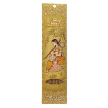 Prabhujis Gifts Incense Sticks Ragini Gujari - Jasmine and Vanilla - Intimacy