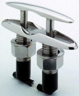 Attwood Stainless-Steel Neat Cleat, 4-1/2