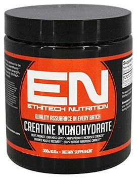 EthiTech Nutrition - Creatine Monohydrate - 300 Grams