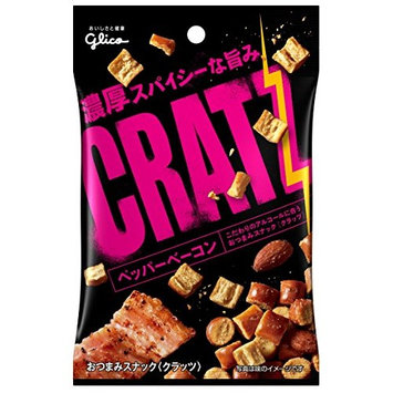Ezaki Glico Kurattsu pepper bacon 42g ~ 10 pieces